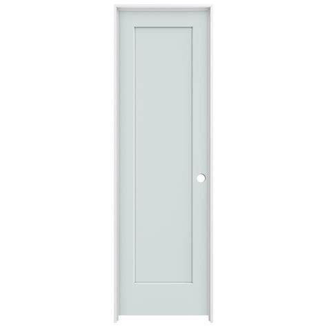 14 X 80 Interior Door by Jeld Wen 24 In X 80 In Light Gray Left