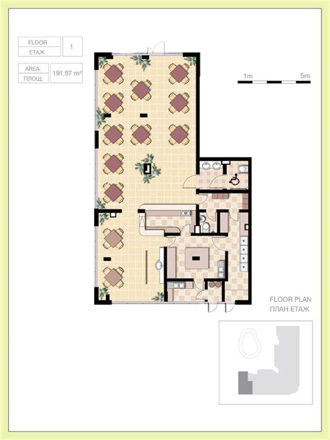 cafe floor plans small cafe floor plan design