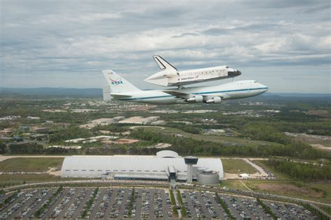 nasa 747 sca delivers history nasa