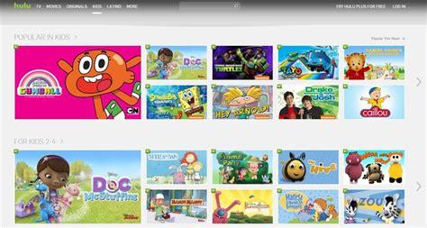 kid friendly video platforms hulu kids