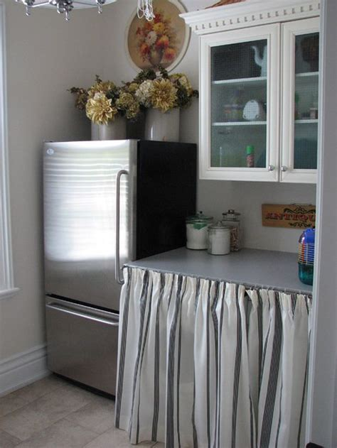 Kitchen Shelves Instead Of Cabinets 5 Unsuspecting Places To Use Curtains