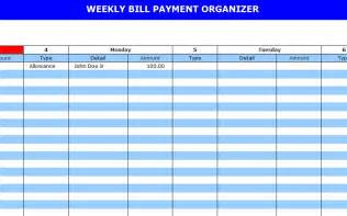 Monthly Bill Calendar Template by 8 Best Images Of Bill Payment Schedule Template Printable