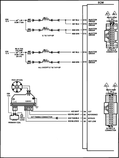 Wiring Diagram For 1998 Chevrolet Tahoe   schematic and