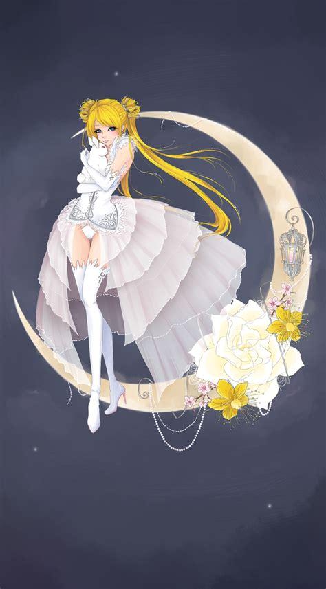 Kaos Bunny Sleep On Moon silver moon power silver moon power