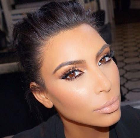 tutorial trucco instagram 25 best ideas about kim kardashian eyebrows on pinterest