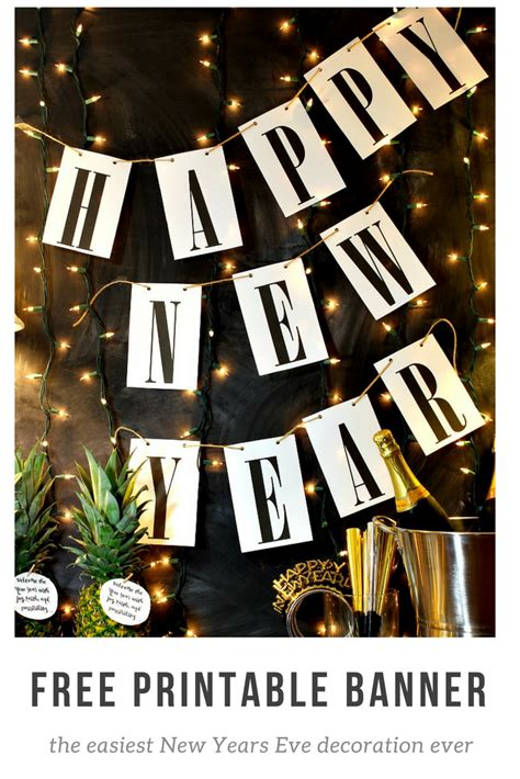 printable 2015 new year banner happy new year free printable banner uncommon designs