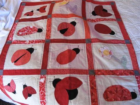 Ladybug Quilt Patterns by Related Keywords Suggestions For Ladybug Applique Quilt