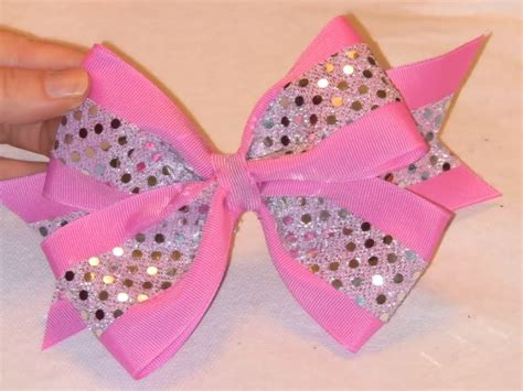 learn how to make bos com learn how to make cheer bows craft ideas pinterest