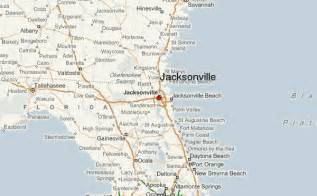 florida map jacksonville jacksonville location guide