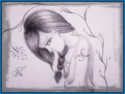imagenes para dibujar tristes de amor dibujos de emos enamorados a lapiz dibujos de amor a lapiz