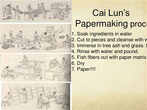 How Did Ancient China Make Paper - isabel424 the invention of paper presentation ver 3