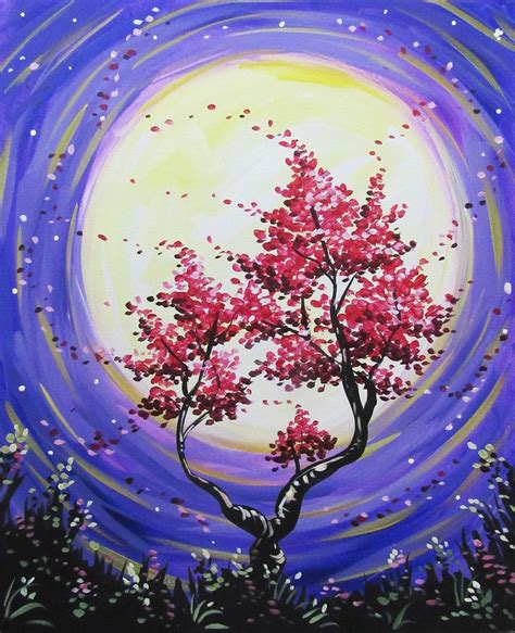 paint nite tree 17 best images about paint on acrylics