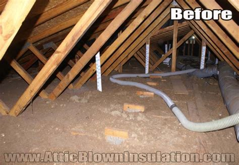 blown in insulation in attic blown attic insulation newsonair org