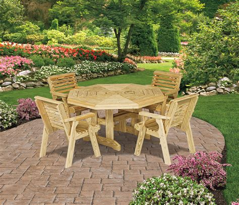 pine patio furniture amish royal patio pine furniture collection