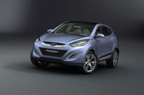 ix hyundai hyundai ix onic hed 6 concept car makes an early unveiling