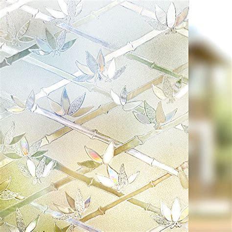 Sichtschutzfolie Fenster Hammer by Rabbitgoo Anti Uv 3d Statisch Haftend Fensterfolie