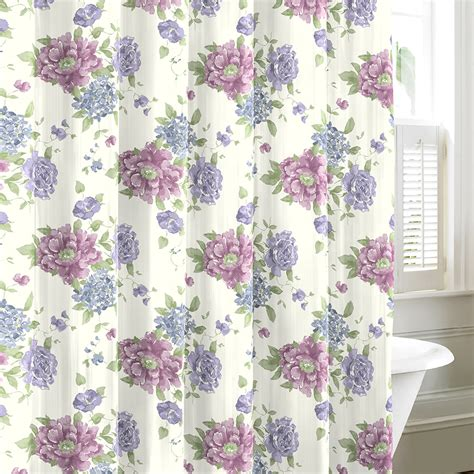 laura ashley shower curtains laura ashley milner shower curtain from beddingstyle com