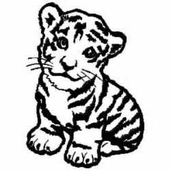 Baby Tiger Outline ch402 baby tiger embroidery design 3 99 golden needle designs great machine embroidery