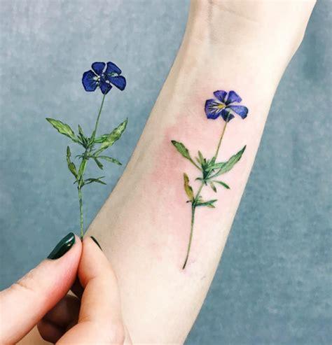 imagenes de tattoo de flores tattoos de plantas y flores la 250 ltima moda en tatuajes