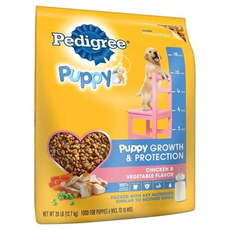 pedigree puppy food pedigree puppy complete nutrition puppy food chicken 28 lbs chickadee solutions