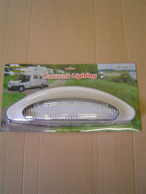 12v awning light awning light 48 led super bright waterproof 12v