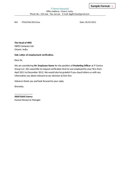 Employment Undertaking Letter Undertaking Letter Format Choice Image Letter Sles Format
