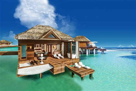 the water bungalows sandals paxnews the water bungalows coming to sandals south