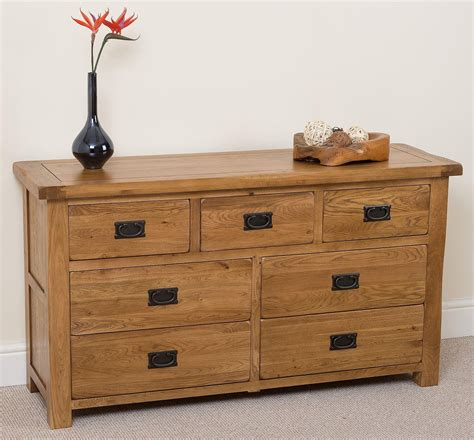 cotswold oak chest of drawers modern furniture direct