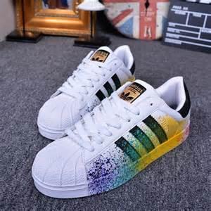 Hombres De Las Adidas Originals Superstar Supercolor Pack Zapatos Verde Verde Verde S83389 Zapatos P 566 by Zapatos Adidas Superstar De Colores