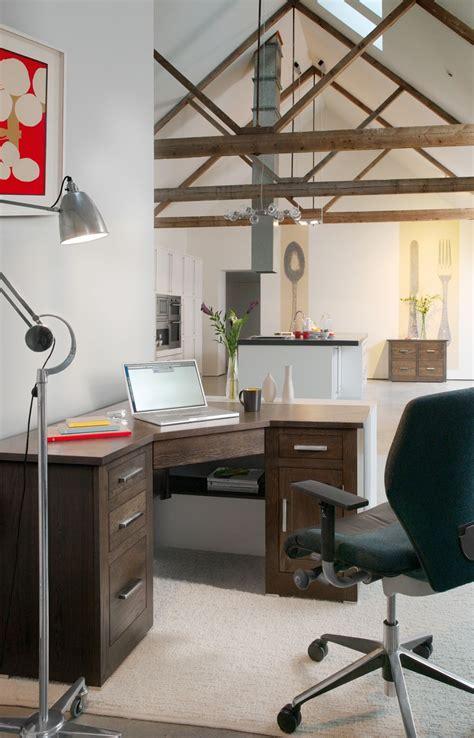 quercus oak corner office desk  tempo furniture