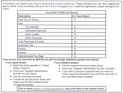 Estimated Tax Payment Reminder Letter 9 best images of balance due notices for residents