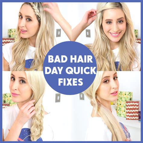 Fear Of A Bad Hairday No Need To Worry With This Hair Blower by Undesirable Hair Day Rapid Fixes Hairstyles
