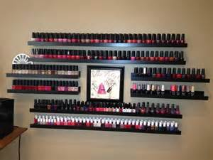 my creative ikea quot nail quot rack this is much prettier