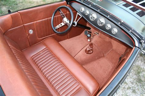Custom Rod Upholstery by Rod Custom Car Interiors Show Quality Leather