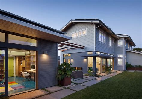 Modern Home Entry Eco Conscious Enterprise Contemporary Zero Net Energy