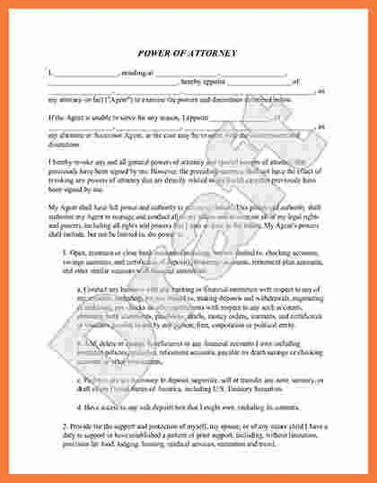 simple power  attorney form marital settlements