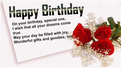 Wishing Happy Birthday Birthday Wishes For Someone Special In Your Life Special