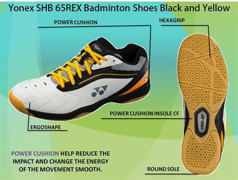 Sepatu Badminton Non Marking yonex shb badminton shoes in 2016 khelmart org