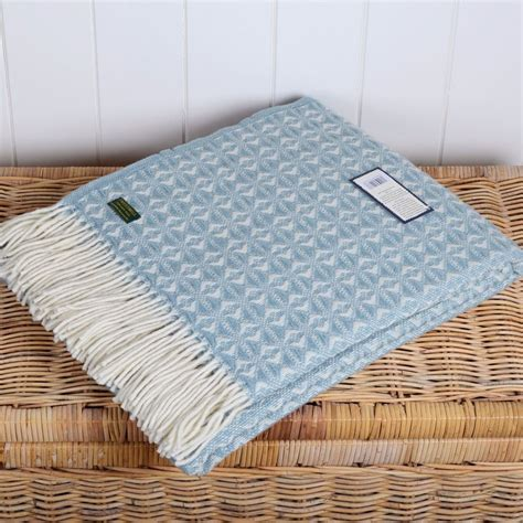 light blue throw blanket cobweave duck egg wool throw tweedmill light blue and