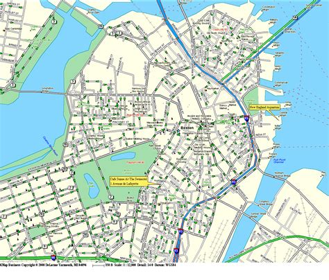 map boston map boston streets
