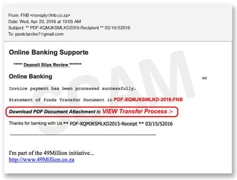 Fnb Letter Of Credit Current Scams Fraud Prevention Security Fnb