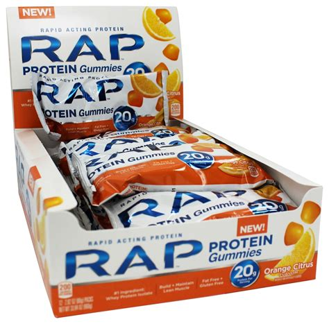 protein gummies buy rap protein rapid acting protein gummies citrus 2