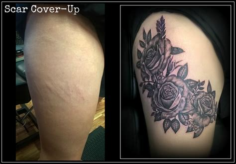 tattoos to cover up scars luke conway certified artist