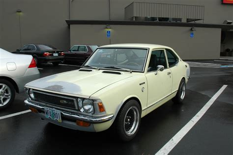 72 Toyota Corolla Parked Cars 1972 Toyota Corolla Deluxe Coupe