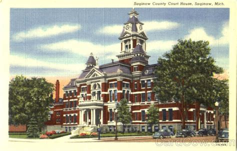 Michigan Court House by Saginaw County Court House