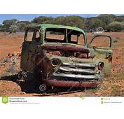 Old Dodge Fargo Truck Body Outback Australia Editorial