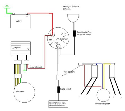 cb750 simplified wiring diagram 31 wiring diagram images