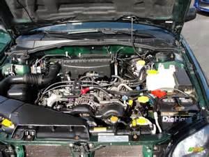 Subaru 5 Cylinder Engine 2002 Subaru Outback Wagon 2 5 Liter Sohc 16 Valve Flat 4