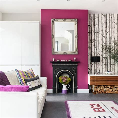 white and purple living room decorating housetohome co uk