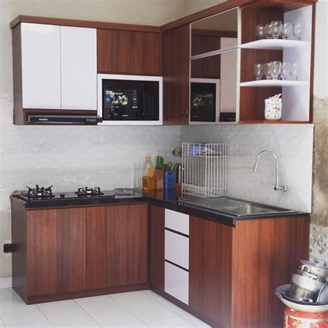 Kitchen Set by Cara Hias Ruang Dapur Kayu Desainrumahid
